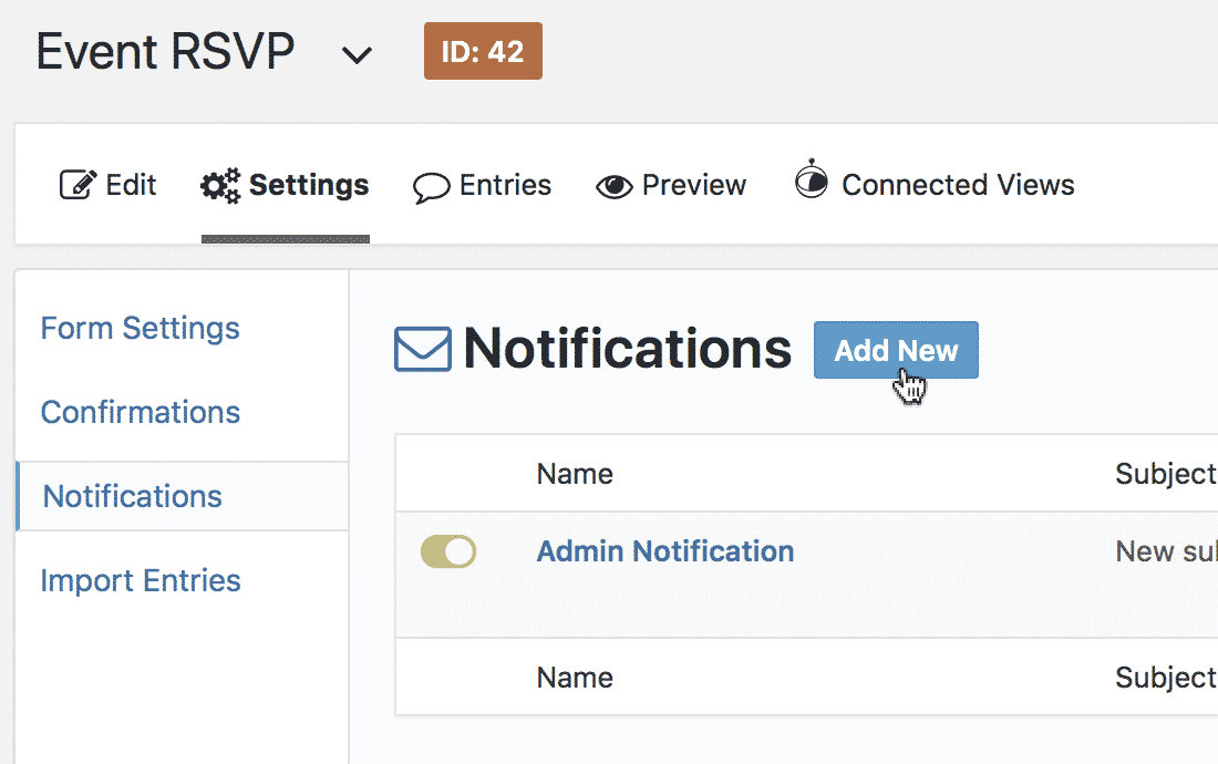 How to be notified when entries are updated in Gravity Forms